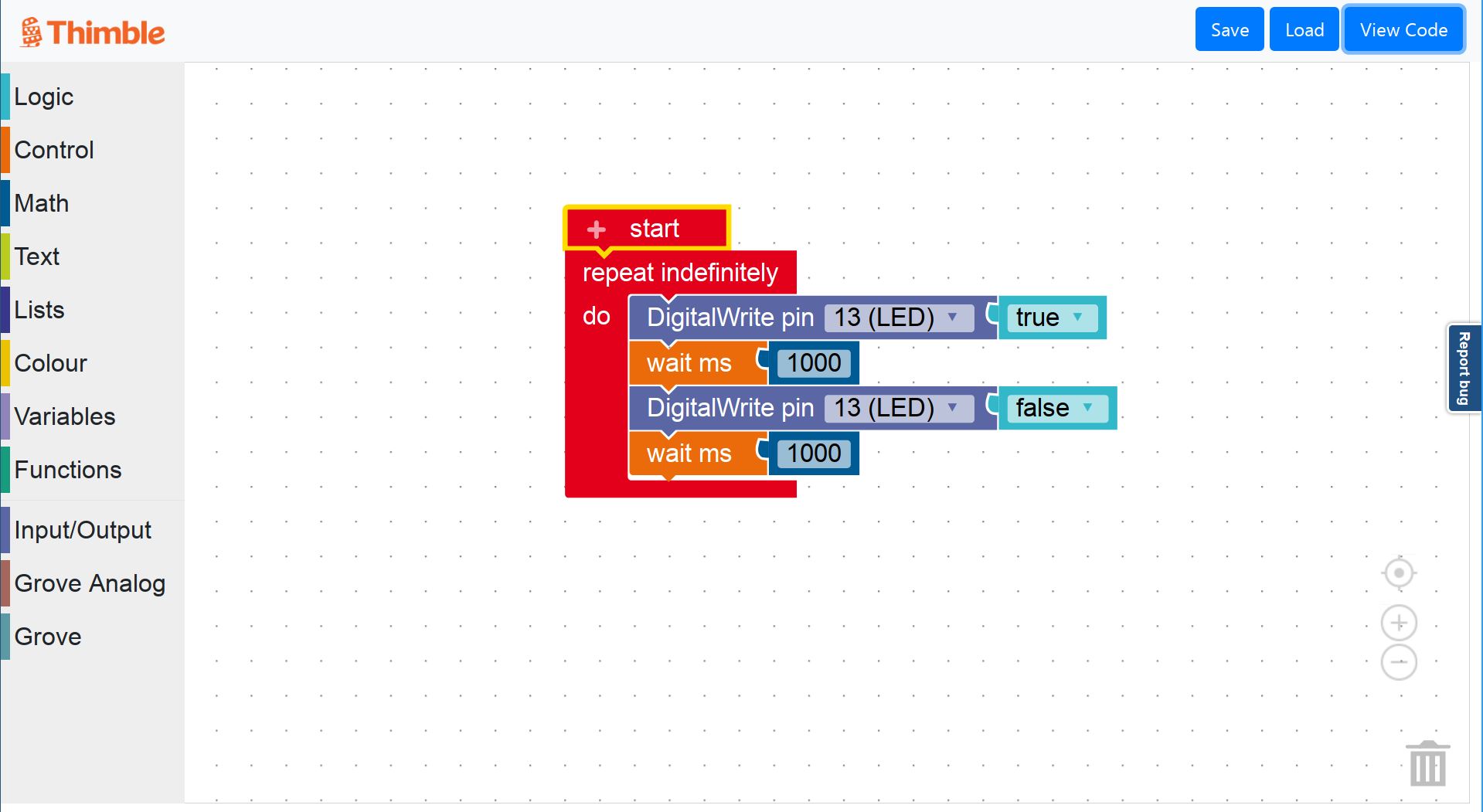 Thimble Blockly Beta Test - Thimble Blockly - Thimble Community